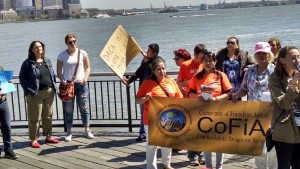 Demonstrating in Jersey City
