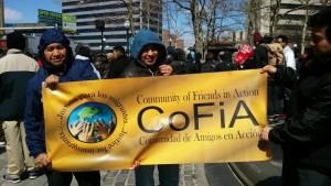 cofia at rally