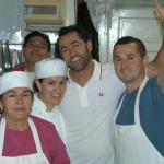 The staff at O'Colombia