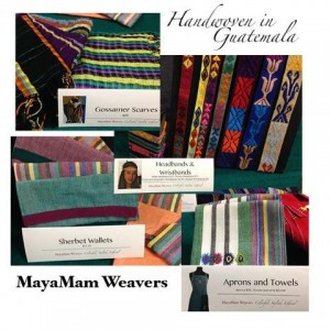 Grupo Cajola brought beautiful hand-woven goods to our events