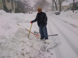 Winter was hard for most of us but good for the workers!