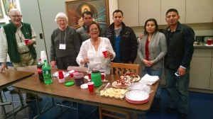 CoFiA ESL Intermediate class holiday party