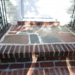 Repaired steps--Bergenfield