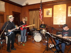 The Still Standing Band contributed their talent