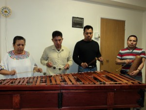 learning to play marimba